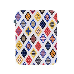 Plaid Triangle Sign Color Rainbow Apple Ipad 2/3/4 Protective Soft Cases by Alisyart