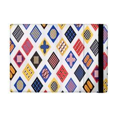 Plaid Triangle Sign Color Rainbow Ipad Mini 2 Flip Cases by Alisyart