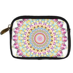 Kaleidoscope Star Love Flower Color Rainbow Digital Camera Cases by Alisyart