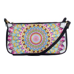 Kaleidoscope Star Love Flower Color Rainbow Shoulder Clutch Bags by Alisyart