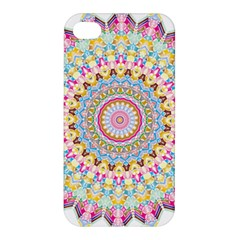 Kaleidoscope Star Love Flower Color Rainbow Apple Iphone 4/4s Hardshell Case by Alisyart