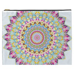 Kaleidoscope Star Love Flower Color Rainbow Cosmetic Bag (xxxl)  by Alisyart