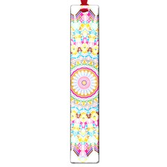 Kaleidoscope Star Love Flower Color Rainbow Large Book Marks by Alisyart
