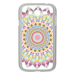Kaleidoscope Star Love Flower Color Rainbow Samsung Galaxy Grand Duos I9082 Case (white)