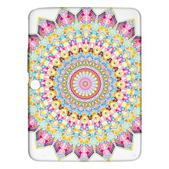 Kaleidoscope Star Love Flower Color Rainbow Samsung Galaxy Tab 3 (10 1 ) P5200 Hardshell Case