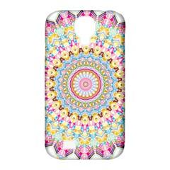 Kaleidoscope Star Love Flower Color Rainbow Samsung Galaxy S4 Classic Hardshell Case (pc+silicone)
