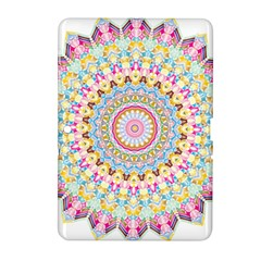 Kaleidoscope Star Love Flower Color Rainbow Samsung Galaxy Tab 2 (10 1 ) P5100 Hardshell Case