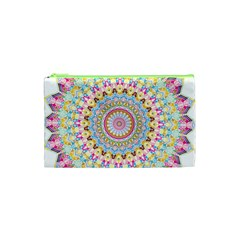 Kaleidoscope Star Love Flower Color Rainbow Cosmetic Bag (xs) by Alisyart