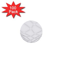 Line Stone Grey Circle 1  Mini Buttons (100 Pack)  by Alisyart