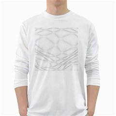 Line Stone Grey Circle White Long Sleeve T Shirts by Alisyart