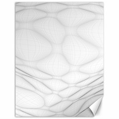 Line Stone Grey Circle Canvas 12  X 16   by Alisyart