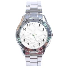 Line Stone Grey Circle Stainless Steel Analogue Watch by Alisyart