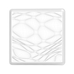 Line Stone Grey Circle Memory Card Reader (square)  by Alisyart