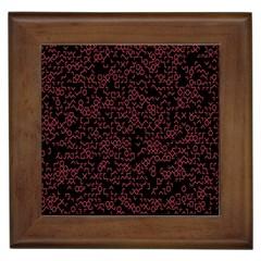 Random Pink Black Red Framed Tiles by Alisyart