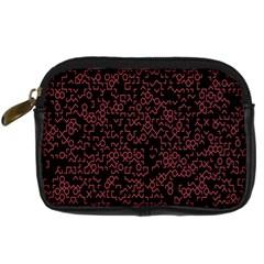 Random Pink Black Red Digital Camera Cases by Alisyart