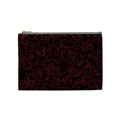 Random Pink Black Red Cosmetic Bag (medium)  by Alisyart