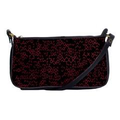 Random Pink Black Red Shoulder Clutch Bags by Alisyart