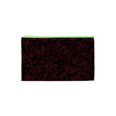 Random Pink Black Red Cosmetic Bag (xs) by Alisyart