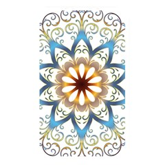 Prismatic Flower Floral Star Gold Green Purple Orange Memory Card Reader by Alisyart