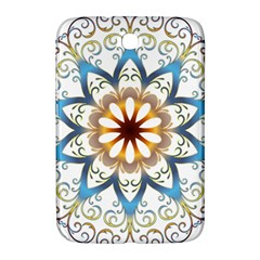 Prismatic Flower Floral Star Gold Green Purple Orange Samsung Galaxy Note 8 0 N5100 Hardshell Case