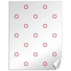 Scrapbook Paper Flower Canvas 12  X 16   by Alisyart