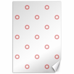 Scrapbook Paper Flower Canvas 20  X 30   by Alisyart