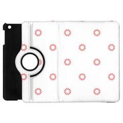Scrapbook Paper Flower Apple Ipad Mini Flip 360 Case by Alisyart