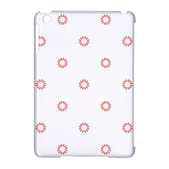 Scrapbook Paper Flower Apple Ipad Mini Hardshell Case (compatible With Smart Cover) by Alisyart