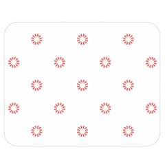 Scrapbook Paper Flower Double Sided Flano Blanket (medium)  by Alisyart