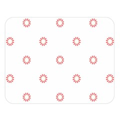 Scrapbook Paper Flower Double Sided Flano Blanket (large)  by Alisyart
