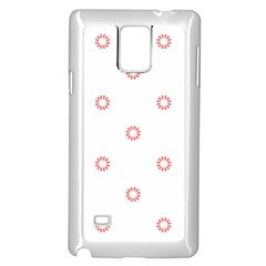 Scrapbook Paper Flower Samsung Galaxy Note 4 Case (white) by Alisyart