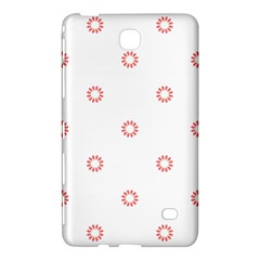 Scrapbook Paper Flower Samsung Galaxy Tab 4 (8 ) Hardshell Case  by Alisyart