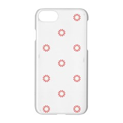 Scrapbook Paper Flower Apple Iphone 7 Hardshell Case by Alisyart