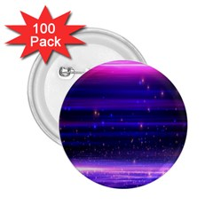 Space Planet Pink Blue Purple 2 25  Buttons (100 Pack)  by Alisyart