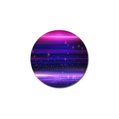 Space Planet Pink Blue Purple Golf Ball Marker (10 Pack) by Alisyart