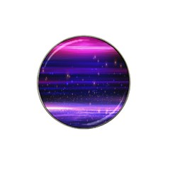 Space Planet Pink Blue Purple Hat Clip Ball Marker (10 Pack) by Alisyart