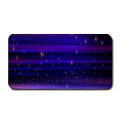 Space Planet Pink Blue Purple Medium Bar Mats by Alisyart