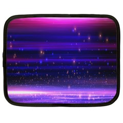 Space Planet Pink Blue Purple Netbook Case (large) by Alisyart