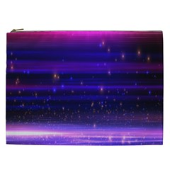 Space Planet Pink Blue Purple Cosmetic Bag (xxl)  by Alisyart