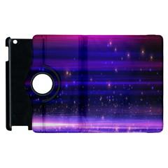 Space Planet Pink Blue Purple Apple Ipad 2 Flip 360 Case by Alisyart