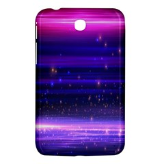 Space Planet Pink Blue Purple Samsung Galaxy Tab 3 (7 ) P3200 Hardshell Case  by Alisyart