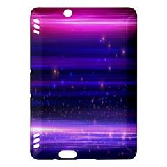 Space Planet Pink Blue Purple Kindle Fire Hdx Hardshell Case by Alisyart