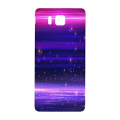 Space Planet Pink Blue Purple Samsung Galaxy Alpha Hardshell Back Case by Alisyart