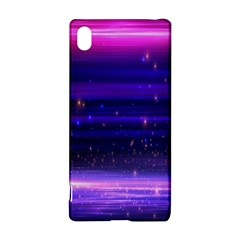 Space Planet Pink Blue Purple Sony Xperia Z3+ by Alisyart