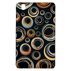 Seamless Cubes Texture Circle Black Orange Red Color Rainbow Samsung Galaxy Tab Pro 8 4 Hardshell Case by Alisyart