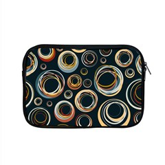 Seamless Cubes Texture Circle Black Orange Red Color Rainbow Apple Macbook Pro 15  Zipper Case by Alisyart