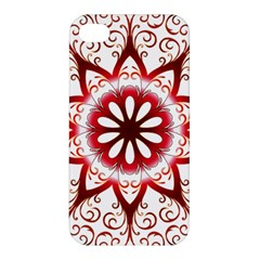 Prismatic Flower Floral Star Gold Red Orange Apple Iphone 4/4s Premium Hardshell Case by Alisyart