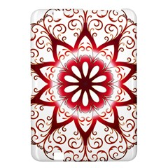 Prismatic Flower Floral Star Gold Red Orange Kindle Fire Hd 8 9  by Alisyart