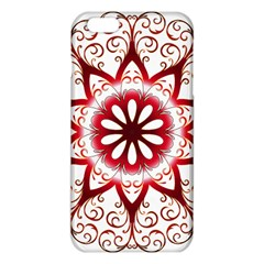 Prismatic Flower Floral Star Gold Red Orange Iphone 6 Plus/6s Plus Tpu Case by Alisyart