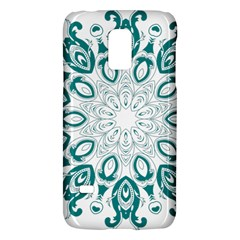 Vintage Floral Star Blue Green Galaxy S5 Mini by Alisyart
